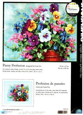 Pansy Profusion 39019  Анюткины глазки