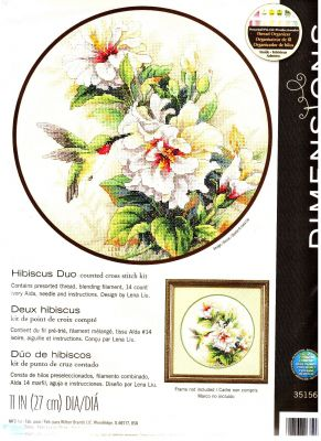 Hibiscus Duo 35156 Колибри и гибискус