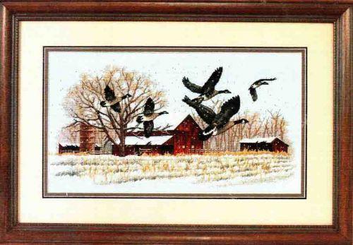 Winter Geese 13732 - Зимние гуси
