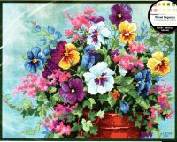 Pansy Profusion 39019  Анюткины глазки